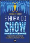 capa do livro É Hora do Show